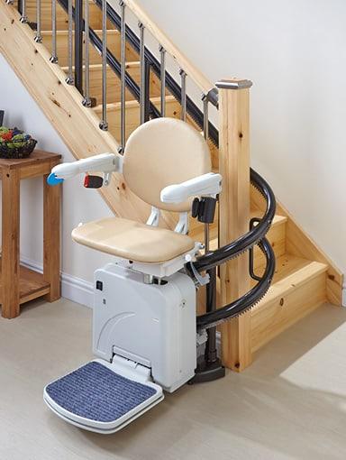 kurviger Treppenlift Minivator 2000