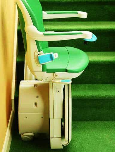 Treppenlift Minivator 1000 Seitenansicht